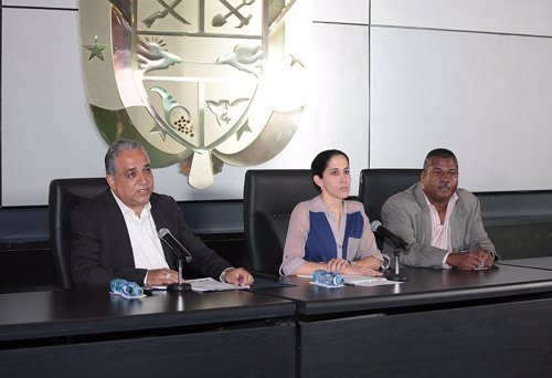 Representantes Gobierno Panamá
