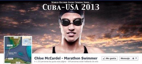 Chloe McCardel nadadora