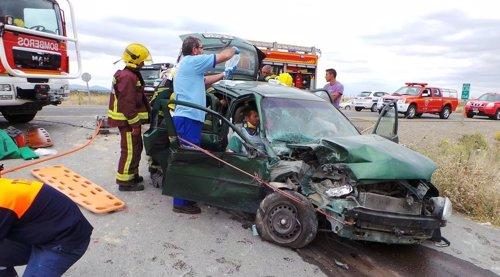 accidente tráfico siniestro