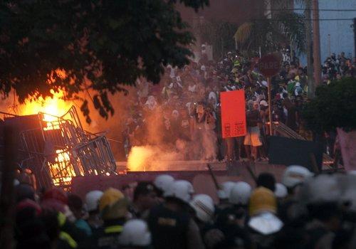 Protestas en Brasil, Belo Horizonte