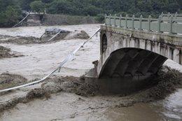 Inundaciones en China, en la provincia de Sichuan