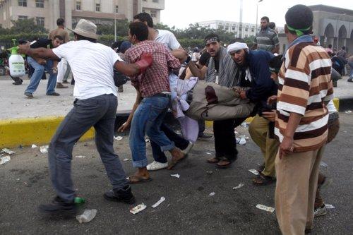 Herido en los enfrentamientos entre partidarios del presidente depuesto Mursi