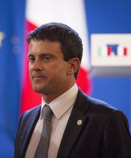 El ministro francés de Interior, Manuel Valls