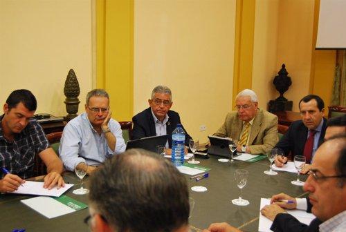Reunión Junta y Subdelegación del Gobierno sobre incendios