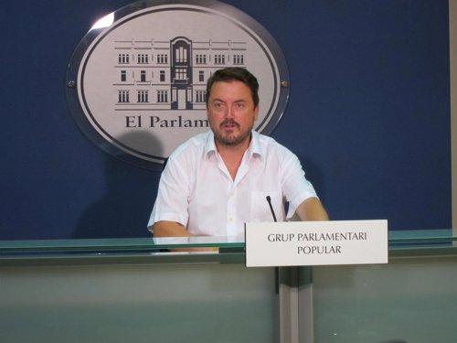 Antoni Camps, parlamentario del PP