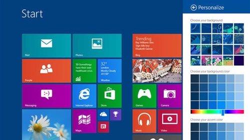 Nueva versión Windows 8.1