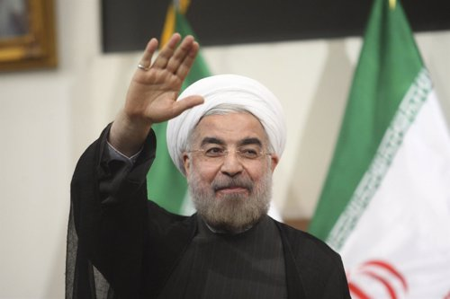 El nuevo presidente de Irán, Hasan Rohani
