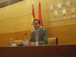 Victoria en la rueda de prensa tras el Consejo de Gobierno