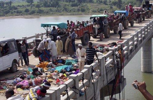 Fallecidos tras una estampida en un templo de la India