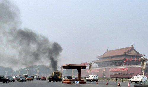 Atentado en Tiananmen, China