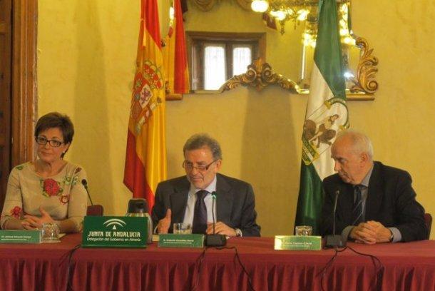 Antonio González presenta un programa contra la silicosis
