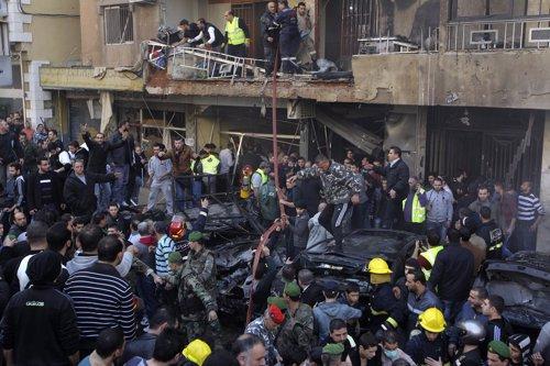 Atentado en el sur de Beirut, en Líbano