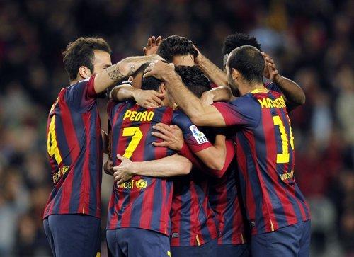 El Barça alarga su fe en Liga