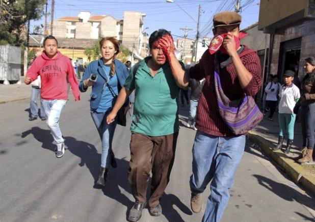 Disturbios en la Universidad Mayor de San Simón en Bolivia (Foto: Stringer Bolivia/Reuters)