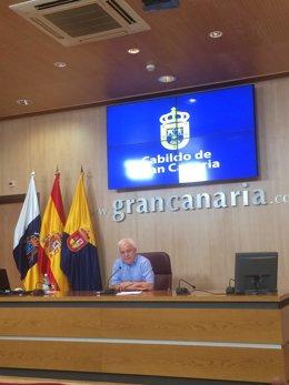 Consejero de Solidaridad del Cabildo de Gran Canaria, Carmelo Ramírez