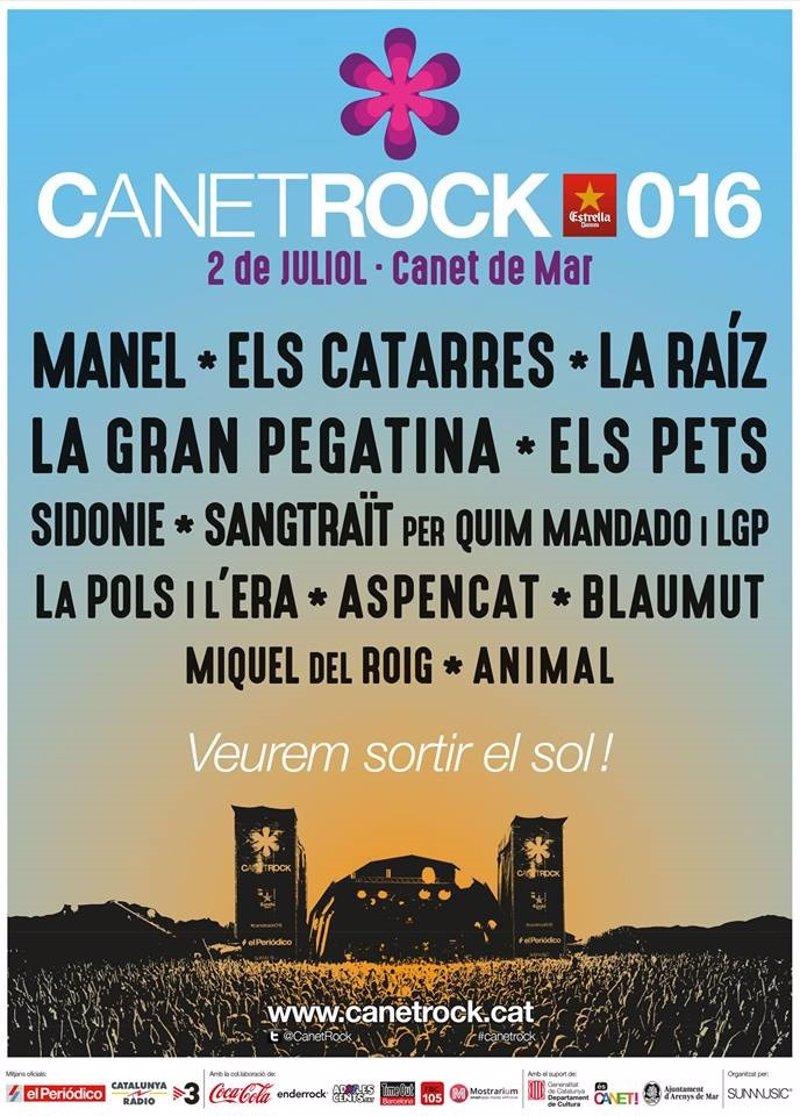 canetrock 2016 festival barcelona