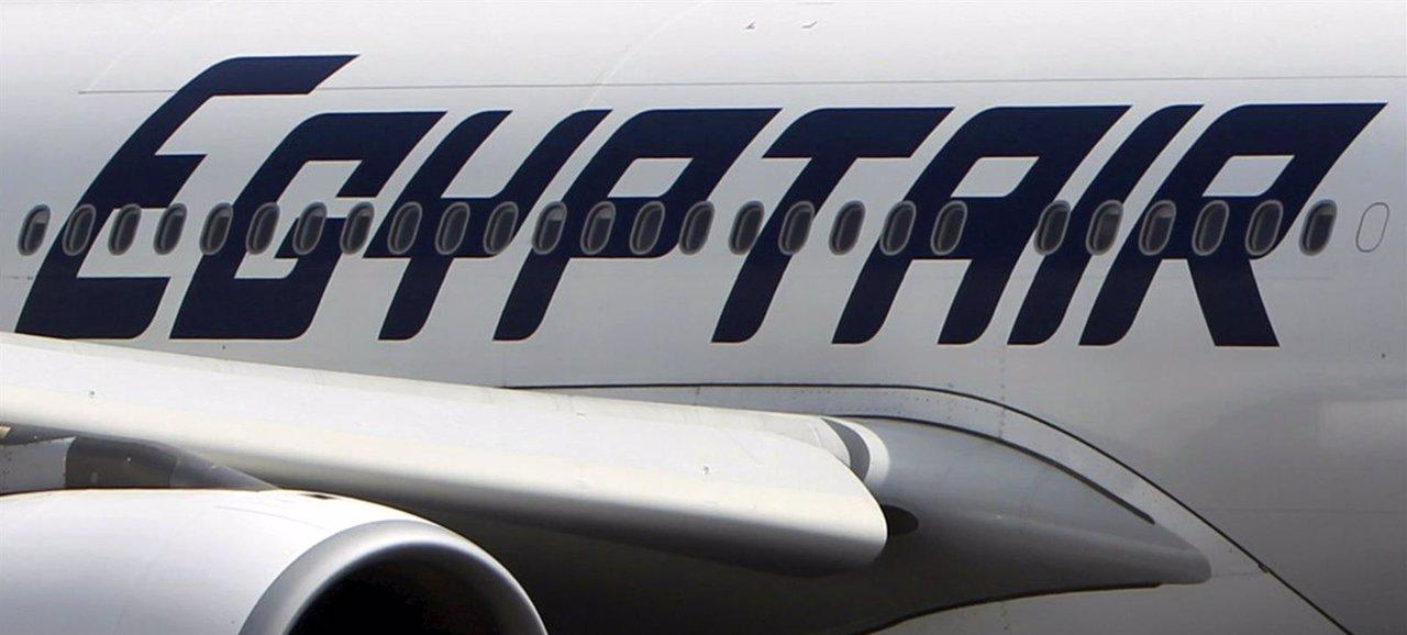 Foto del avión de EgyptAir