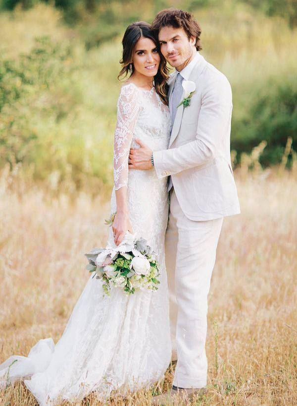 Ian Somerhalder And Nikki Reed Rustic Wedding EverAfterGuide