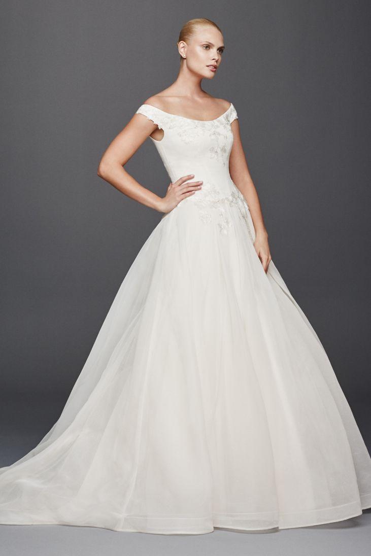 26 Best Off The Shoulder Wedding Dresses EverAfterGuide