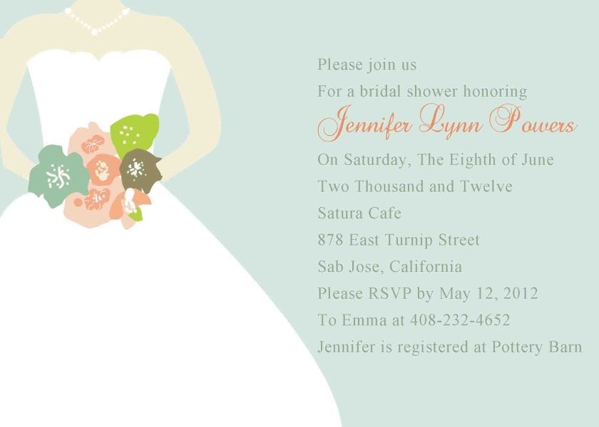 How To Write A Bridal Shower Invitations After Knowing Soon Should You Send