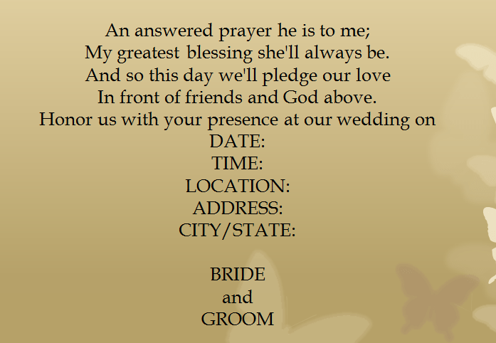 15 Sles For Casual Invitation Wording Wedding