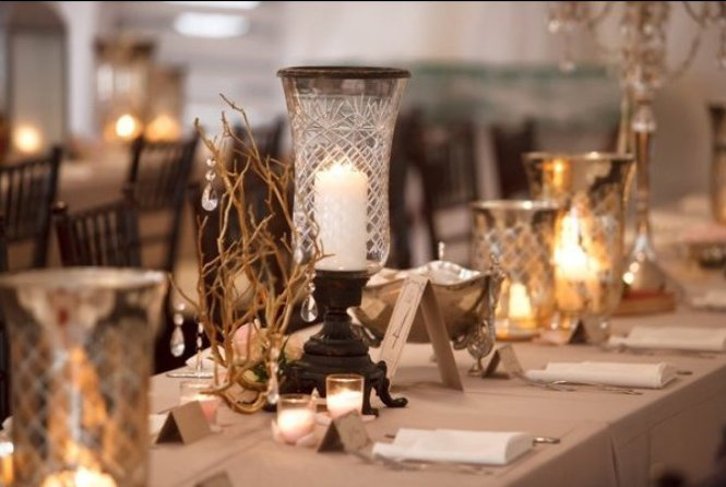 Elegant Wedding Centerpieces Without Flowers