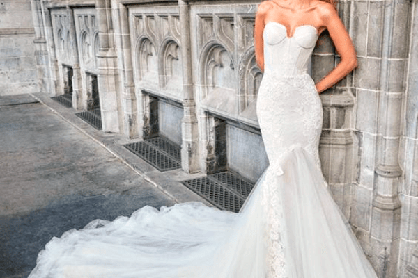 Sexy And Classy: Mermaid Wedding Dresses