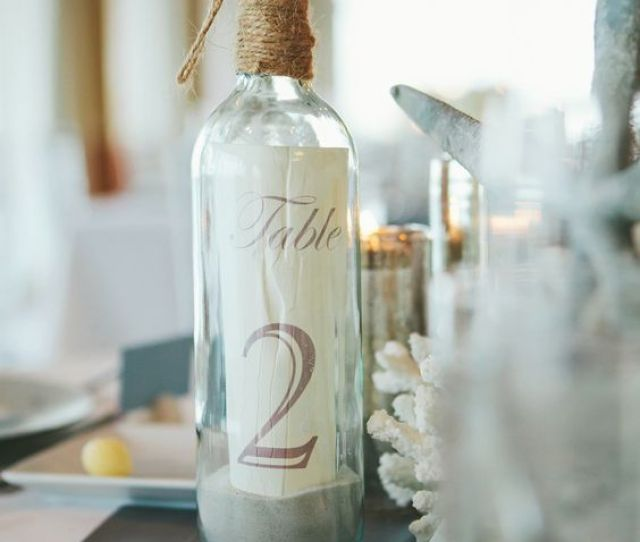 In The Bottle Table Numbers