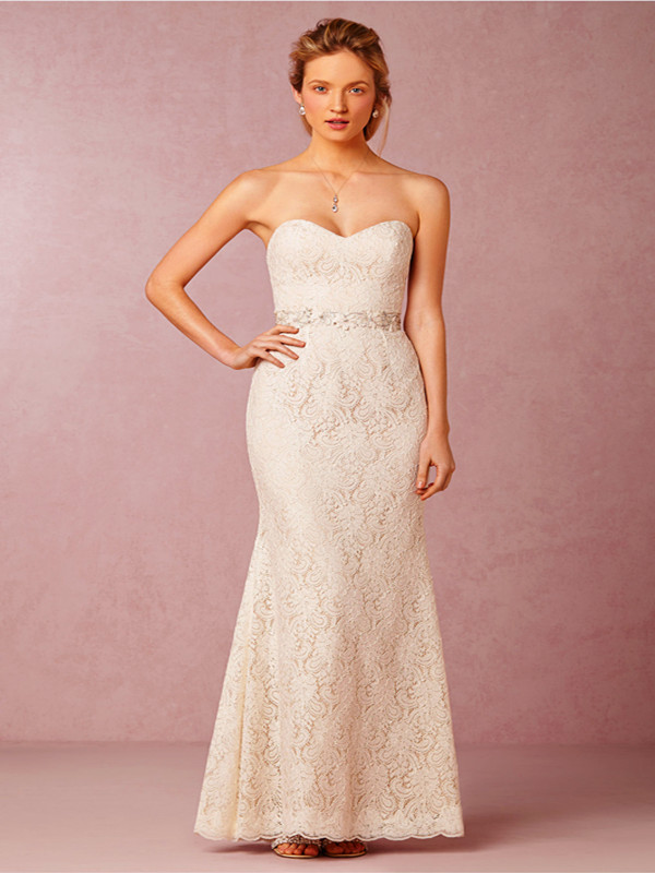 Wedding Line And Embellished Flare Sweetheart Fit Dress Tulle Lace And Soft Neckline