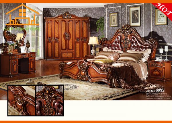 luxury cheap price elegant wood classic vintage 2016 new design antique roman style bedroom furniture sets for sale cheap bedroom furniture manufacturer from china 105454128