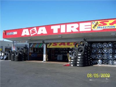 Tire Shop In Sacramento Ca 95825 A Amp A Tires