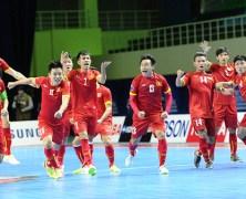 Video: Futsal Việt Nam vs Futsal Nhật Bản