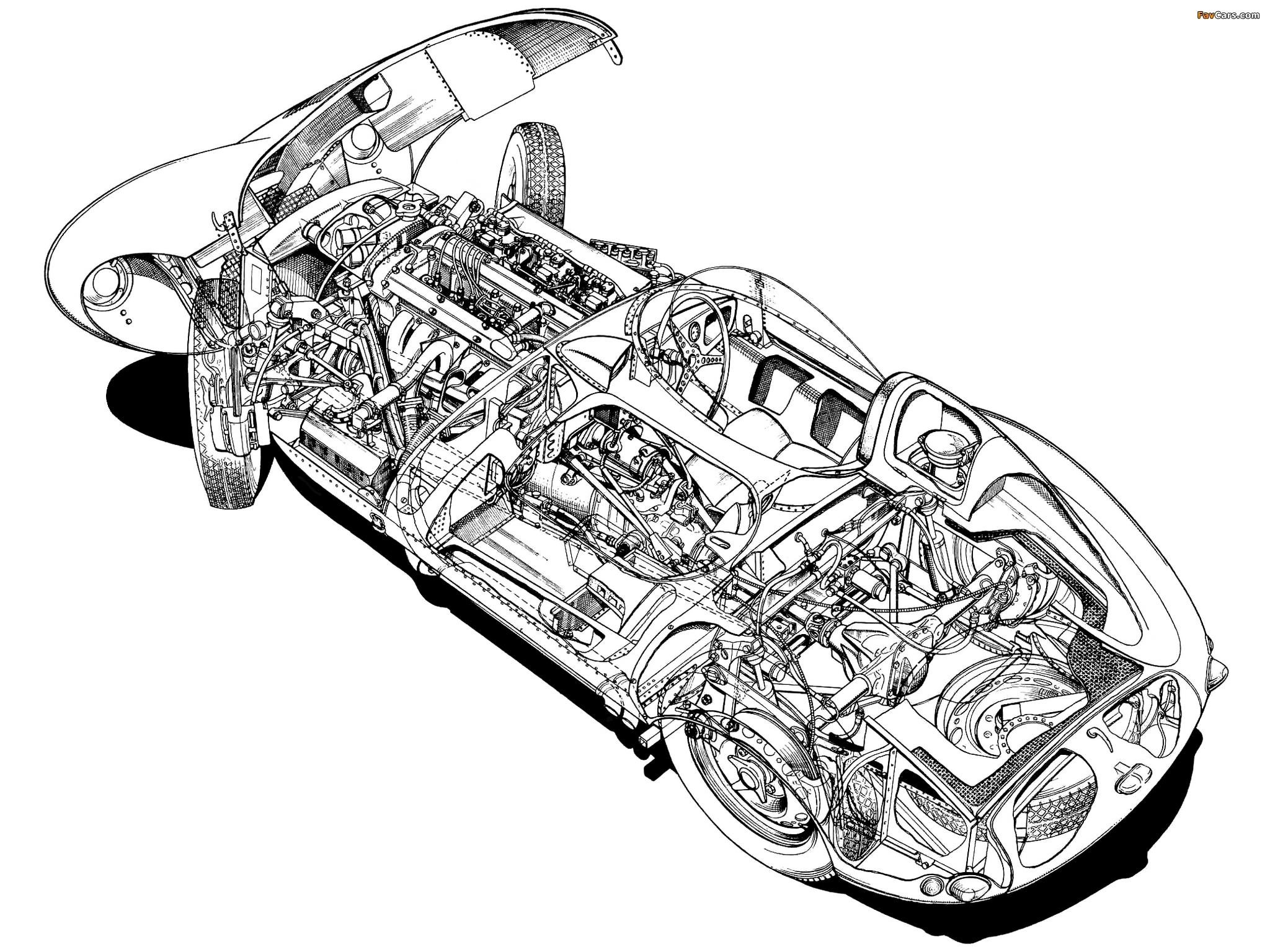 Images Of Jaguar D Type 57 X
