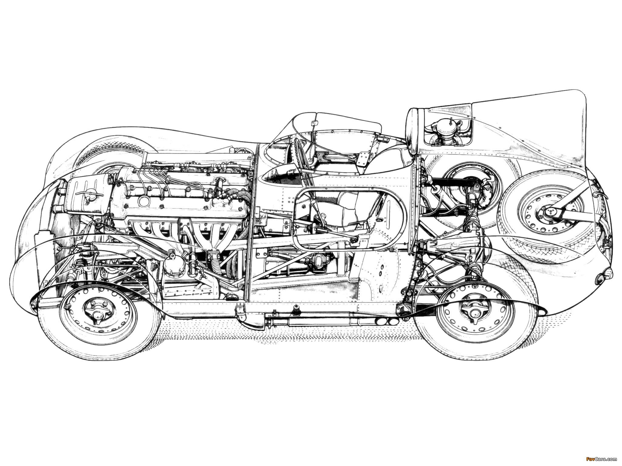 Jaguar D Type 57 Wallpapers X