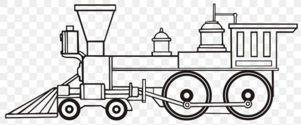 train coloring # 61
