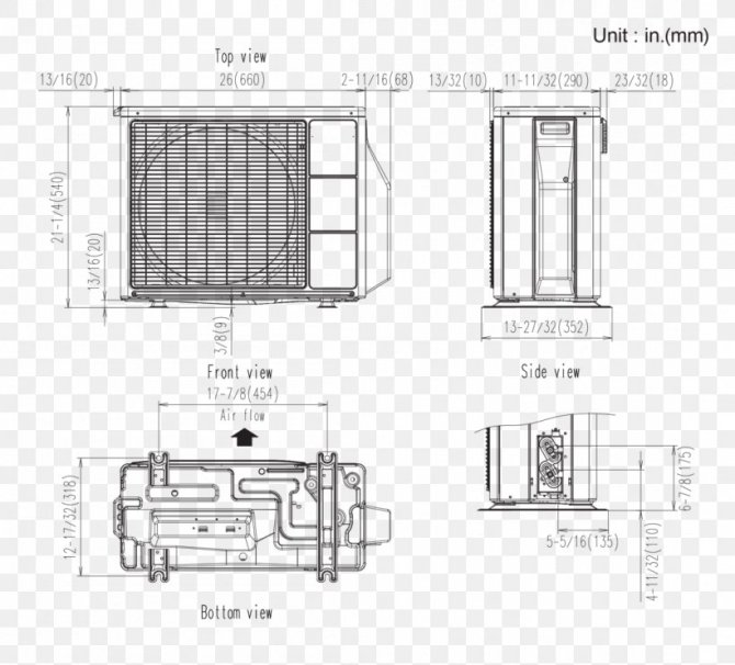 wiring diagram hvac floor plan air conditioning room png
