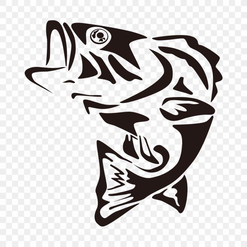 Largemouth Bass Fishing Clip Art Png 1000x1000px Largemouth Bass Art Bass Bass Fishing Black And White