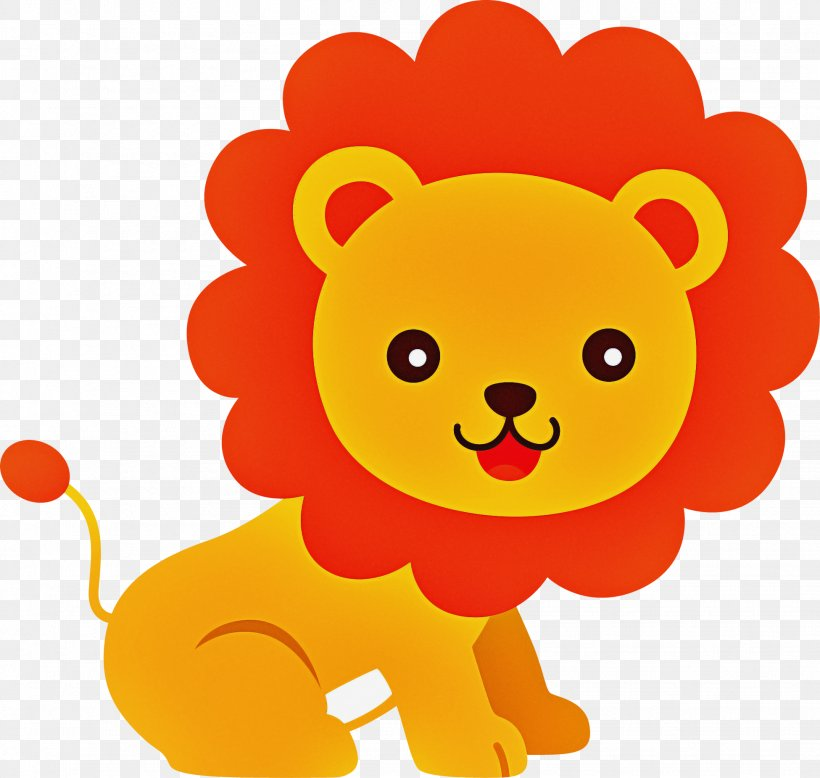 Cartoon Yellow Lion Smile Png 1951x1852px Cartoon Lion Smile Yellow Download Free