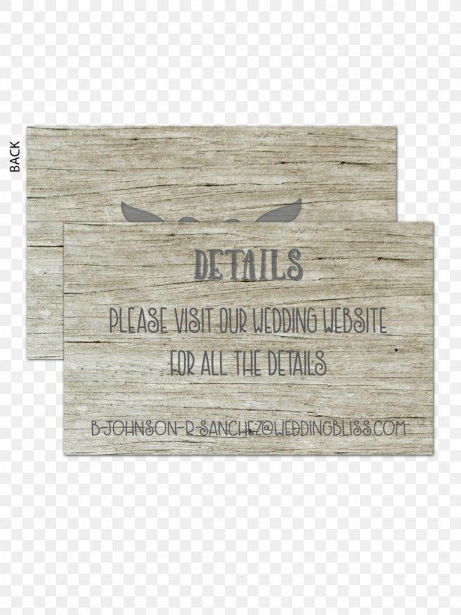Wedding Invitation Paper Wood Place