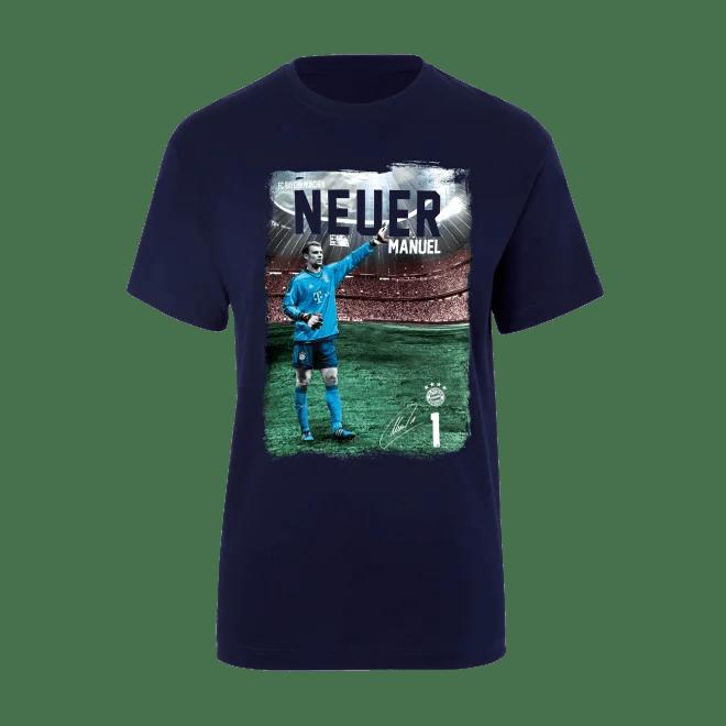 Kinder Spieler T Shirt Manuel Neuer Offizieller Fc Bayern Fanshop