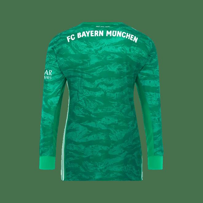 Fc Bayern Kids Shirt Goalkeeper 19 20 Official Fc Bayern Munich Store