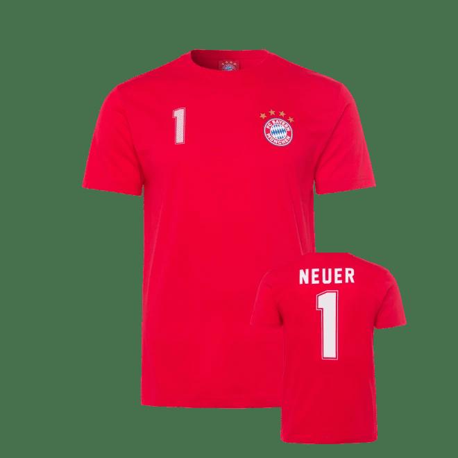 Children S T Shirt Neuer Official Fc Bayern Munich Store