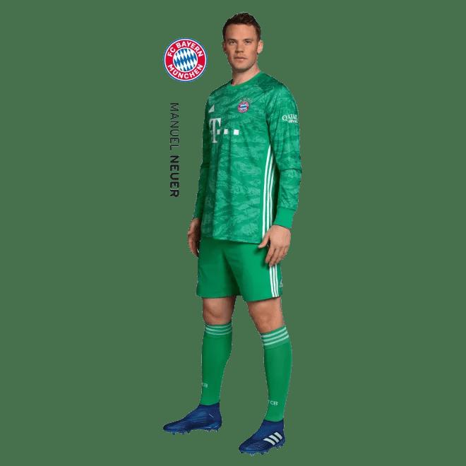 Wandtattoo Manuel Neuer Offizieller Fc Bayern Fanshop