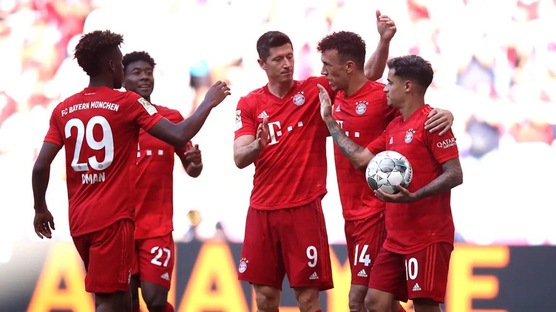 Rampant Reds thrash sorry Mainz - FC Bayern Munich
