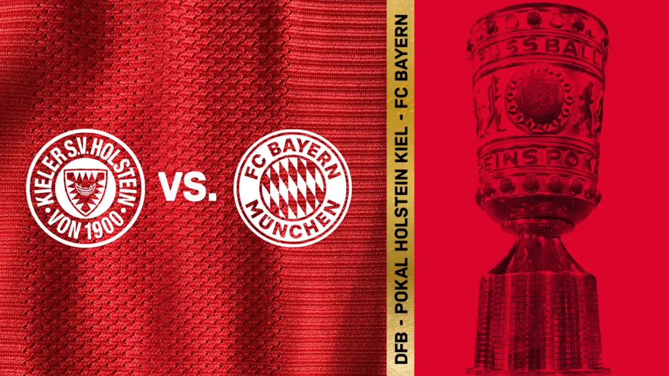 bayern to face holstein kiel in dfb cup