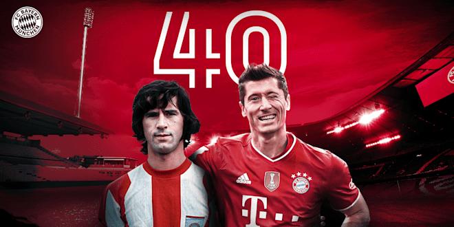 Comparing Lewandowski and Müller's record seasons