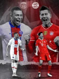 This is Bayern's quarter-final opponents Paris Saint-Germain