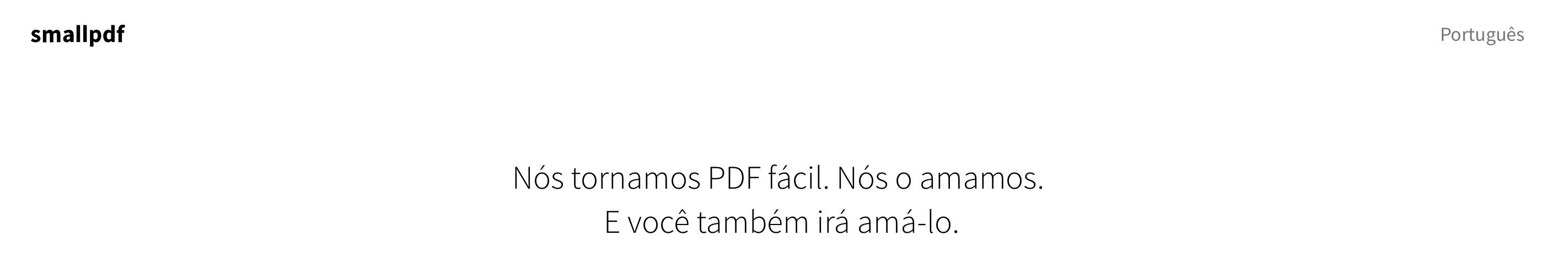 Smallpdf a ferramenta online para tratar os seus pdfs fcincias nesse sentido surgiu este ano o smallpdf um servio online gratuito em portugus e sem necessidade de registo e que lhe permite fazer tudo isto stopboris Images