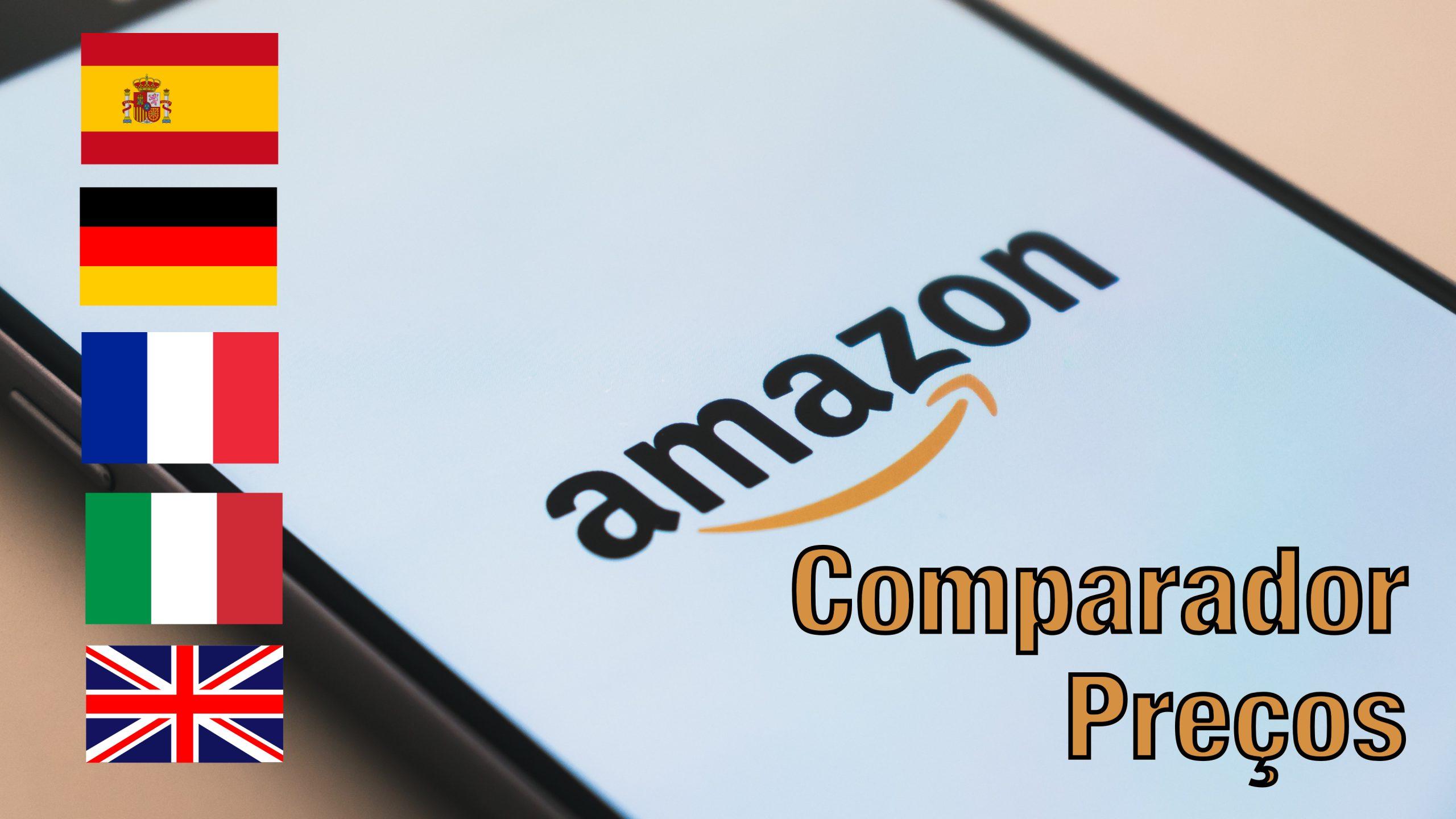 Comparador de preços da Amazon