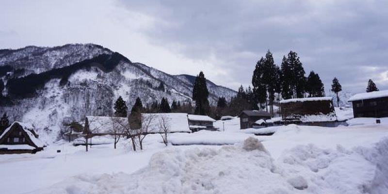 [日本景點]搭世界遺產巴士,來去合掌村~雪地裡的五箇山相倉合掌村,玩雪賞景好地方